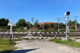 Власти Калининграда попросят РЖД не оставлять вагоны на переходе в районе Северной горы