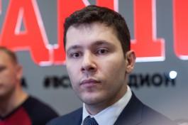Антон Алиханов: Хотел бы попасть на все матчи ЧМ-2018 в Калининграде, а ещё на полуфинал и финал
