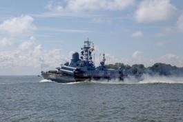 На Первом канале покажут сериал о военных моряках, снятый в Калининградской области