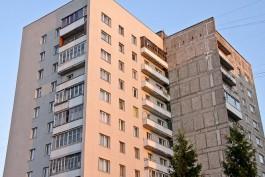 На ул. Гагарина в Калининграде с 12 этажа новостройки выбросился мужчина