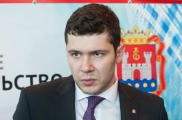 Алиханов: Цыбульский не будет работать в областном правительстве