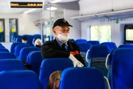 В Калининградской области до 7 ноября отменили дневные пригородные поезда