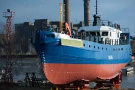 «Рождённый в СССР»: в Светлом спустили на воду рыбопромысловое судно «Капитан Лобанов»