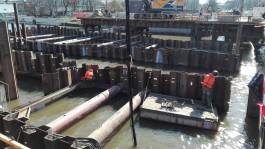 Строители Высокого моста: Гигантский сом нас больше не тревожит