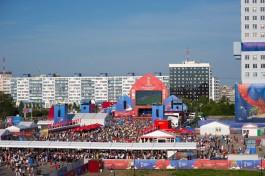 Во время ЧМ-2018 фан-зону в Калининграде посетили 384 тысячи человек