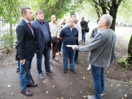 Силанов объяснил затягивание работ по благоустройству дворов в Калининграде