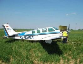 Самолёт из Калининграда совершил аварийную посадку на поле в Польше