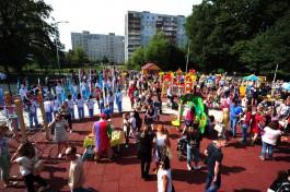«Подарок от Натальи Водяновой»: в Макс-Ашманн-парке открыли спортивно-игровую площадку