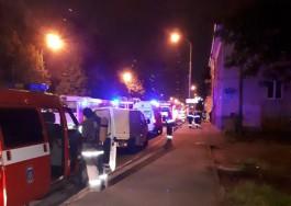 В Калининграде 38 человек тушили пожар в гостевом доме на Советском проспекте