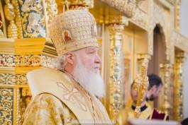 Патриарх Кирилл призвал верующих не посещать храмы и молиться дома